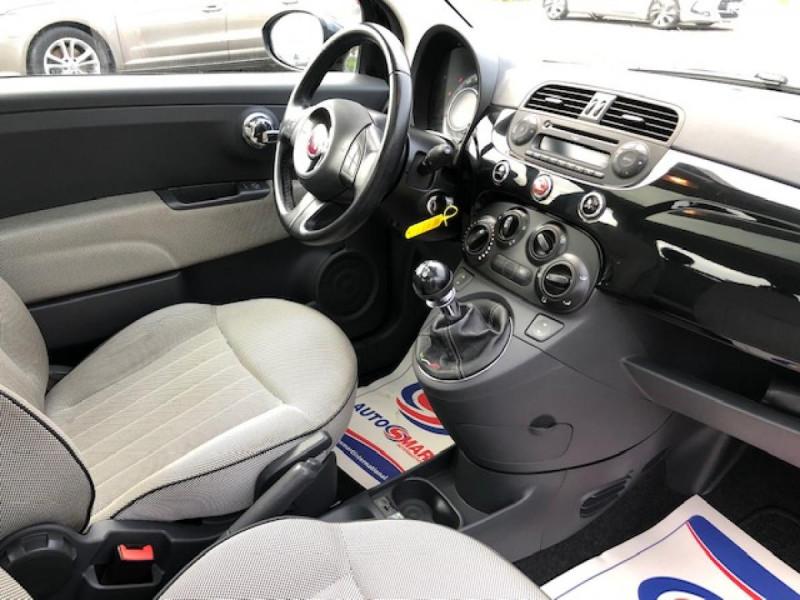 Photo 13 de l'offre de FIAT 500 1.2I 69 LOUNGE CLIM   DISTRI OK   ENTRETIEN OK GAR3MOIS à 5490€ chez Triplo auto