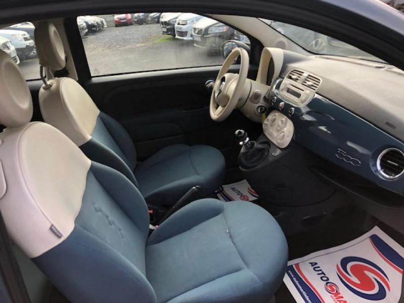 Photo 12 de l'offre de FIAT 500 1.2I - 69 POP DISTRI ENTRETIEN OK à 4490€ chez Triplo auto