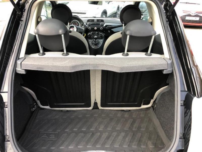 Photo 9 de l'offre de FIAT 500 1.2I 69 LOUNGE CLIM   DISTRI OK   ENTRETIEN OK GAR3MOIS à 5490€ chez Triplo auto