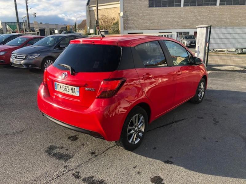 Photo 5 de l'offre de TOYOTA YARIS 1.3VVT-I100 LOUNGE GPS CAMERA RECUL à 7990€ chez Triplo auto