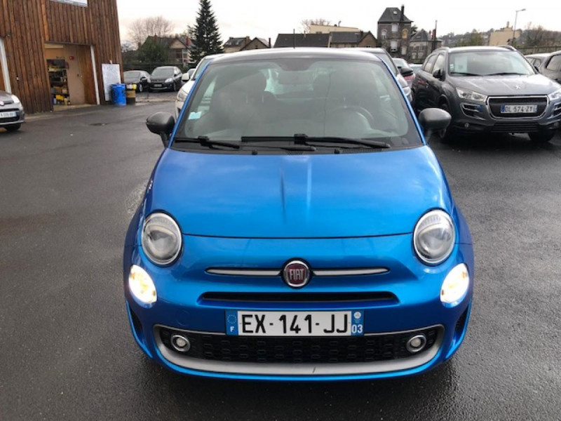 Photo 8 de l'offre de FIAT 500 S 1.2I - 69 CLIM RADAR TOIT UCONNECT à 9850€ chez Triplo auto