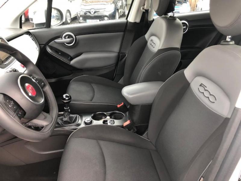 Photo 11 de l'offre de FIAT 500X 1.3 MJT95 S&S LOUNGE GPS 1ERE MAIN à 11250€ chez Triplo auto