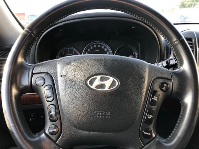 Photo 19 de l'offre de HYUNDAI SANTA FE 2.2 CRDI 155 4X4 7PL EXECUTIVE CUIR RADAR RECUL à 8990€ chez Triplo auto