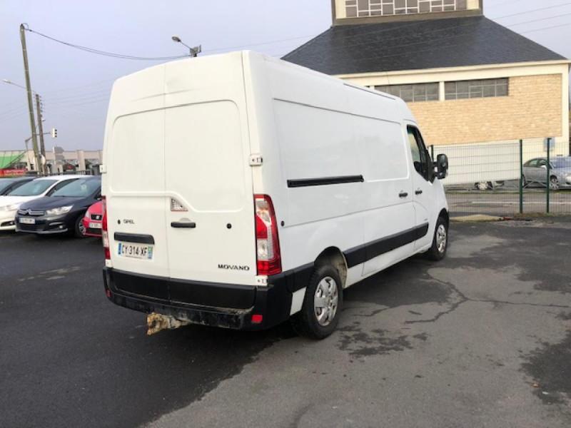 Photo 4 de l'offre de OPEL MOVANO L2H2 2.3 CDTI - 125 FOURGON CLIM ATTELAGE TVA RECUPERABLE à 10990€ chez Triplo auto