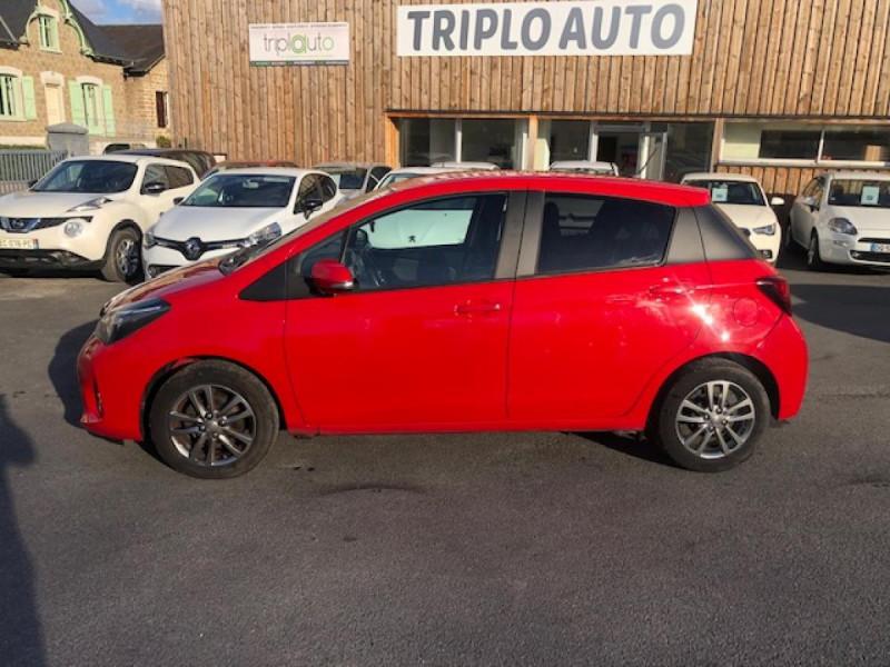 Photo 2 de l'offre de TOYOTA YARIS 1.3VVT-I100 LOUNGE GPS CAMERA RECUL à 7990€ chez Triplo auto