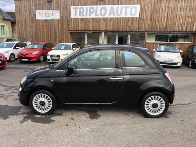 Photo 2 de l'offre de FIAT 500 1.2I 69 LOUNGE CLIM   DISTRI OK   ENTRETIEN OK GAR3MOIS à 5490€ chez Triplo auto