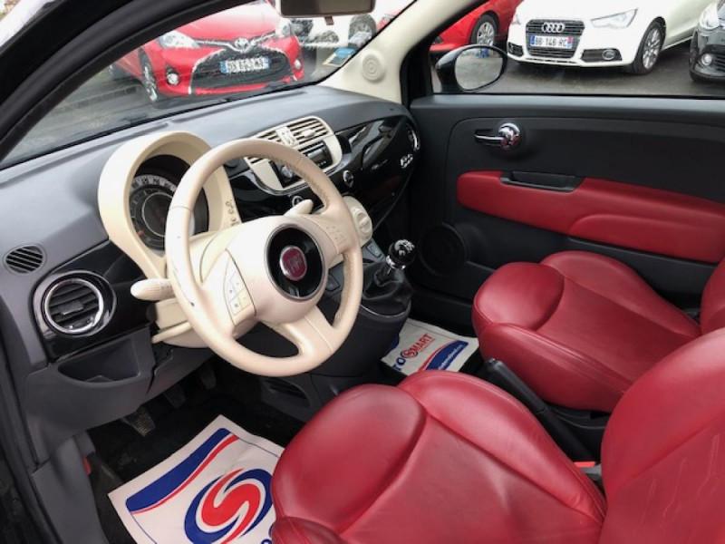 Photo 12 de l'offre de FIAT 500 1.3MJT75 LOUNGE CUIR TOIT OUVRANT CLIM CARNET ENTRETIEN OK à 5490€ chez Triplo auto