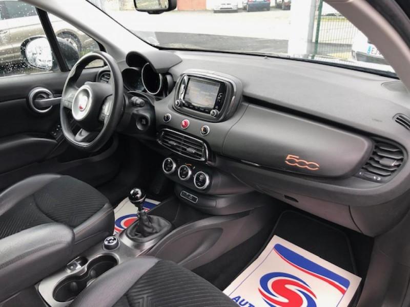 Photo 13 de l'offre de FIAT 500X 1.6 MJT120 S-DESIGN GPS RADAR 1ERE MAIN à 10990€ chez Triplo auto