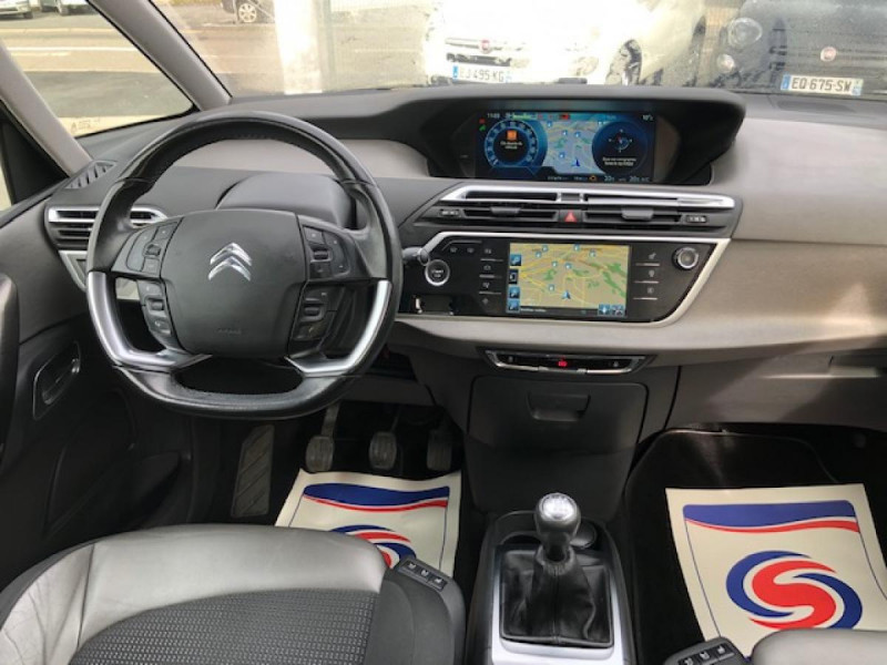 Photo 15 de l'offre de CITROEN C4 PICASSO 2.0BHDI150 EXCLUSIVE GPS CAMERA  à 10990€ chez Triplo auto