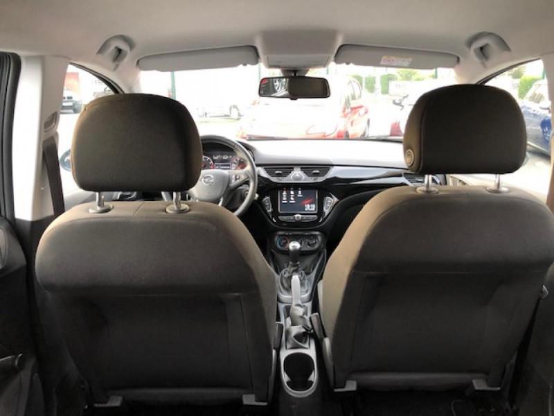 Photo 8 de l'offre de OPEL CORSA 1.4I TURBO - 100 S&S  E BERLINE DESIGN 120 ANS  à 10990€ chez Triplo auto