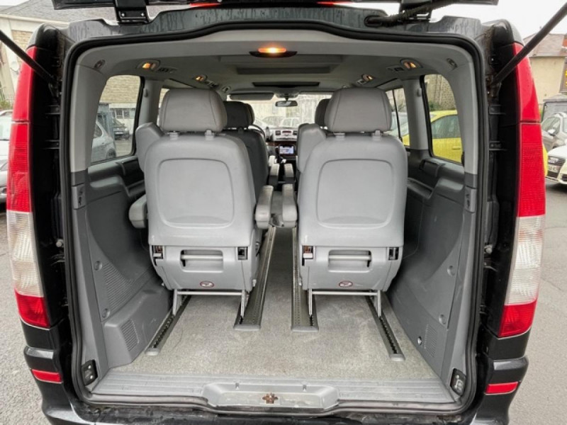 Photo 9 de l'offre de MERCEDES-BENZ VIANO 2.2CDI150 BVA COMPACTAMBIENTE CLIM GPS CAMERA à 15490€ chez Triplo auto