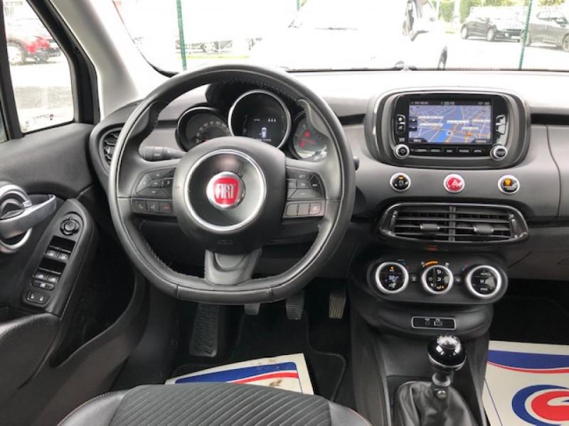 Photo 15 de l'offre de FIAT 500X 1.6 MJT120 S-DESIGN GPS RADAR 1ERE MAIN à 10990€ chez Triplo auto