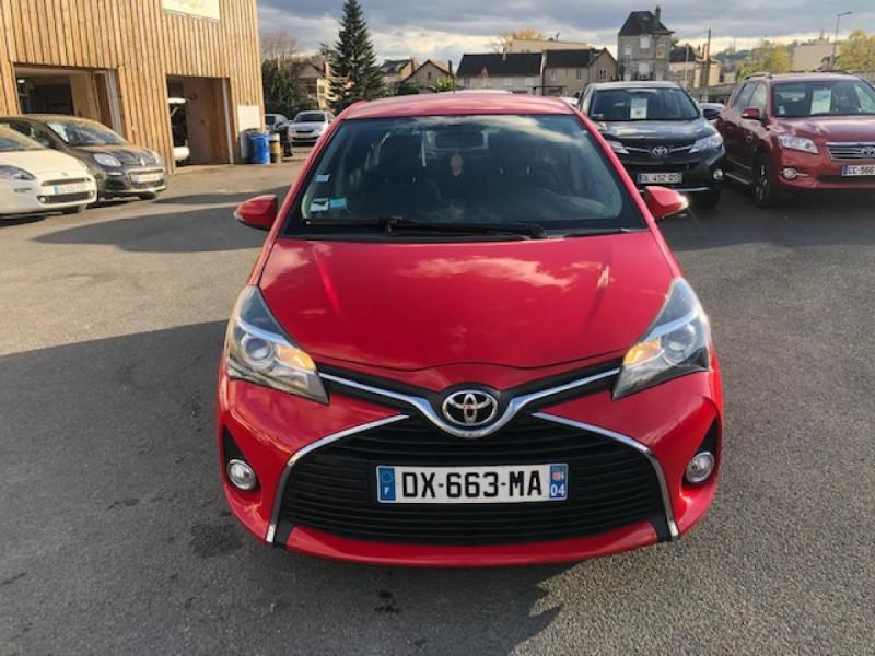 Photo 8 de l'offre de TOYOTA YARIS 1.3VVT-I100 LOUNGE GPS CAMERA RECUL à 7990€ chez Triplo auto
