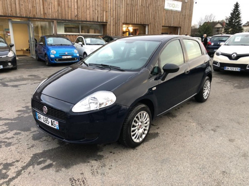 Fiat GRANDE PUNTO/PUNTO EVO 1.3 MJT5 S&S CULT 1ERE MAIN ENTRETIEN OK Diesel BLEU Occasion à vendre