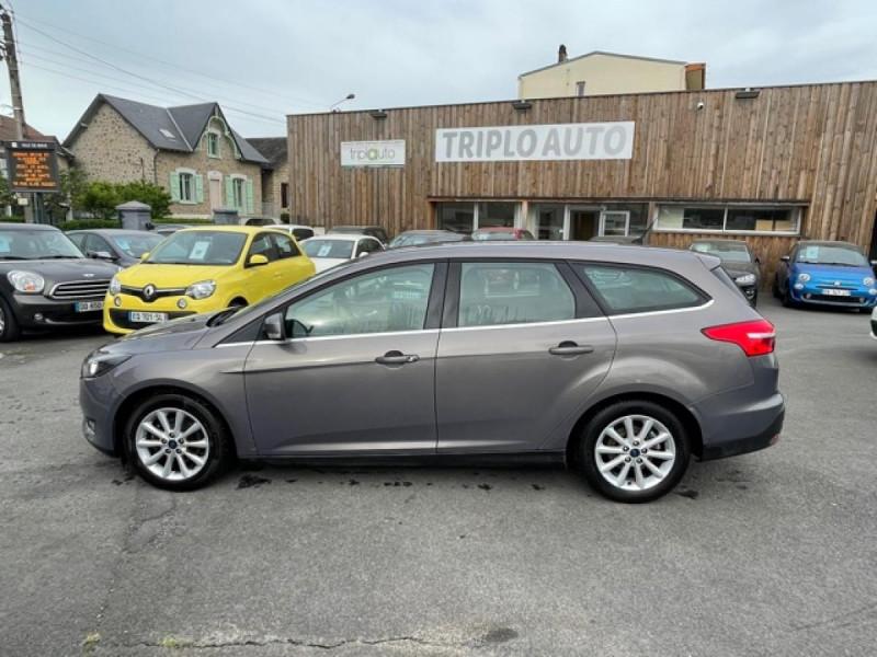 Photo 2 de l'offre de FORD FOCUS SW 1.6TDCI115 TITANIUM GPS  à 8990€ chez Triplo auto