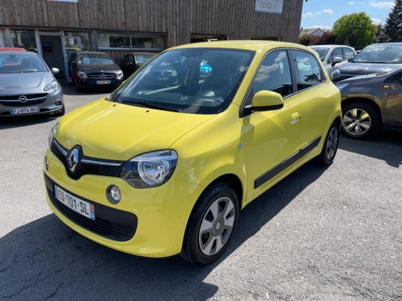 Renault TWINGO 1.0SCE-70 ZEN CLIM Essence JAUNE Occasion à vendre