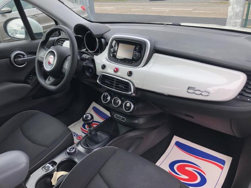 Photo 13 de l'offre de FIAT 500X 1.3 MJT95 S&S LOUNGE GPS 1ERE MAIN à 11250€ chez Triplo auto
