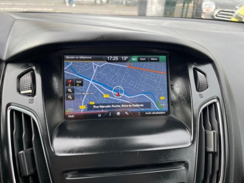 Photo 18 de l'offre de FORD FOCUS SW 1.6TDCI115 TITANIUM GPS  à 8990€ chez Triplo auto