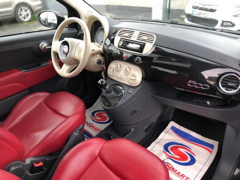 Photo 14 de l'offre de FIAT 500 1.3MJT75 LOUNGE CUIR TOIT OUVRANT CLIM CARNET ENTRETIEN OK à 5490€ chez Triplo auto