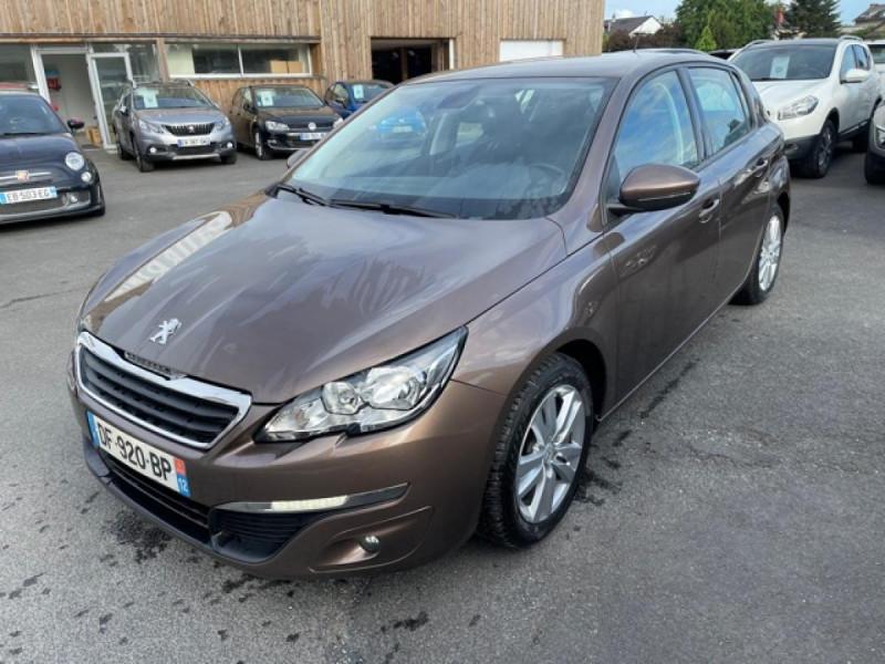 Peugeot 308  1.6 HDI 92 BUSINESS GPS   CARNET ENTRETIEN A JOUR Diesel MARRON Occasion à vendre