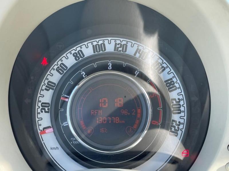 Photo 16 de l'offre de FIAT 500 1.3 MJT 75 LOUNGE CLIM CUIR TOIT OUVRANT à 6250€ chez Triplo auto