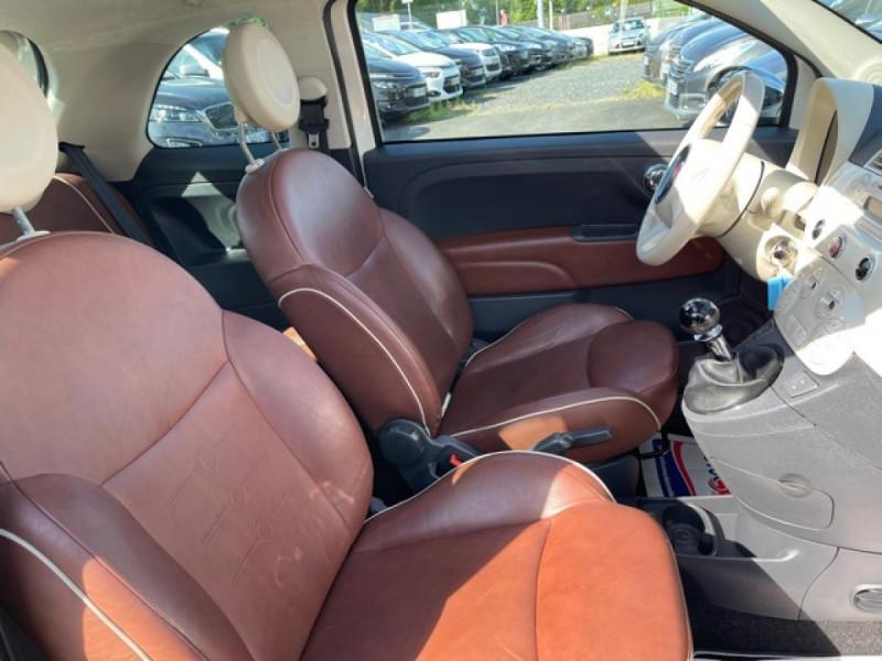 Photo 14 de l'offre de FIAT 500 1.3 MJT 75 LOUNGE CLIM CUIR TOIT OUVRANT à 6250€ chez Triplo auto