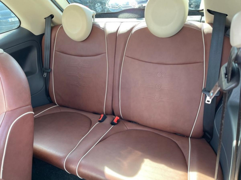 Photo 12 de l'offre de FIAT 500 1.3 MJT 75 LOUNGE CLIM CUIR TOIT OUVRANT à 6250€ chez Triplo auto