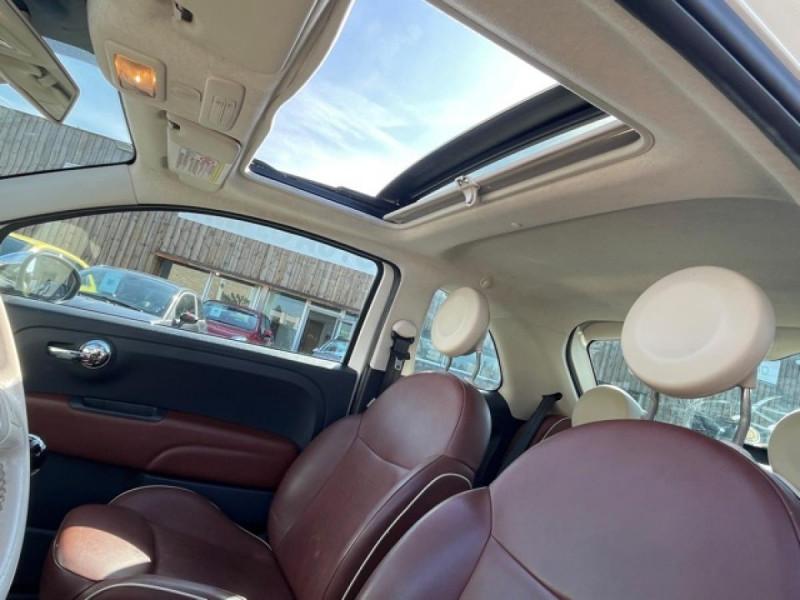 Photo 18 de l'offre de FIAT 500 1.3 MJT 75 LOUNGE CLIM CUIR TOIT OUVRANT à 6250€ chez Triplo auto