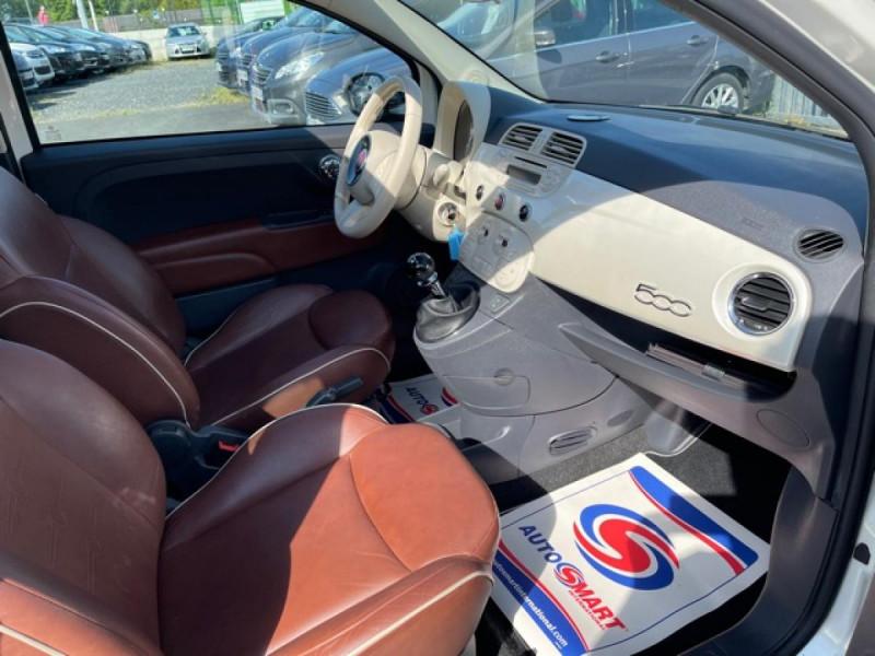 Photo 13 de l'offre de FIAT 500 1.3 MJT 75 LOUNGE CLIM CUIR TOIT OUVRANT à 6250€ chez Triplo auto
