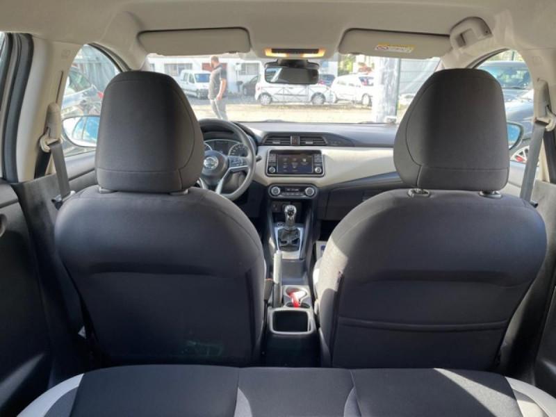 Photo 10 de l'offre de NISSAN MICRA 1.0 - 71 ACENTA CLIM CARPLAY ENTRETIEN OK à 10350€ chez Triplo auto