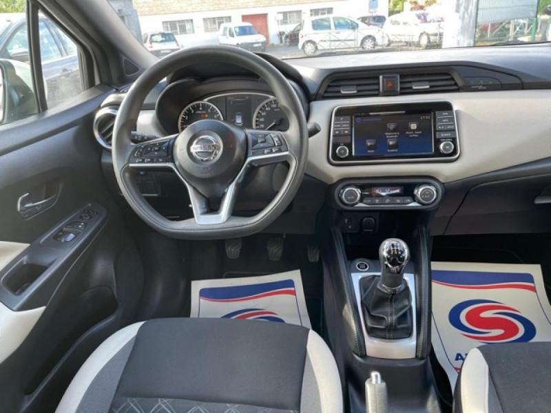 Photo 16 de l'offre de NISSAN MICRA 1.0 - 71 ACENTA CLIM CARPLAY ENTRETIEN OK à 10350€ chez Triplo auto