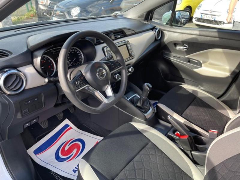 Photo 12 de l'offre de NISSAN MICRA 1.0 - 71 ACENTA CLIM CARPLAY ENTRETIEN OK à 10350€ chez Triplo auto
