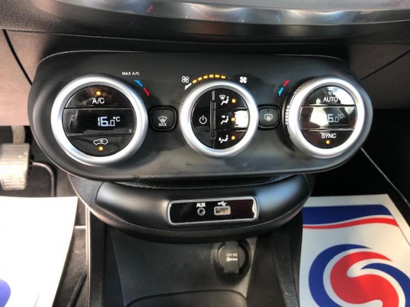 Photo 21 de l'offre de FIAT 500X 1.3 MULTIJET 95 S&SPOPSTAR BUSINESS GPS RADAR AR à 12380€ chez Triplo auto