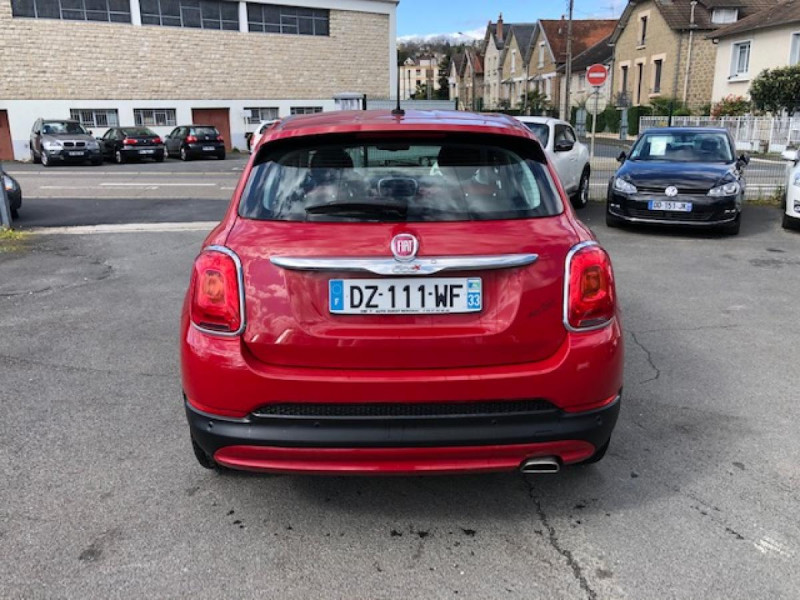 Photo 4 de l'offre de FIAT 500X 1.3 MULTIJET 95 S&SPOPSTAR BUSINESS GPS RADAR AR à 12380€ chez Triplo auto