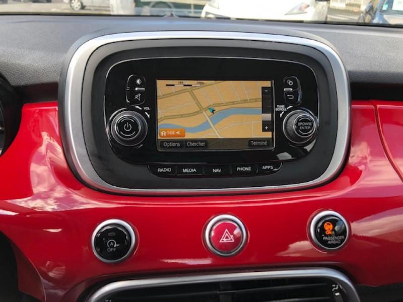 Photo 19 de l'offre de FIAT 500X 1.3 MULTIJET 95 S&SPOPSTAR BUSINESS GPS RADAR AR à 12380€ chez Triplo auto