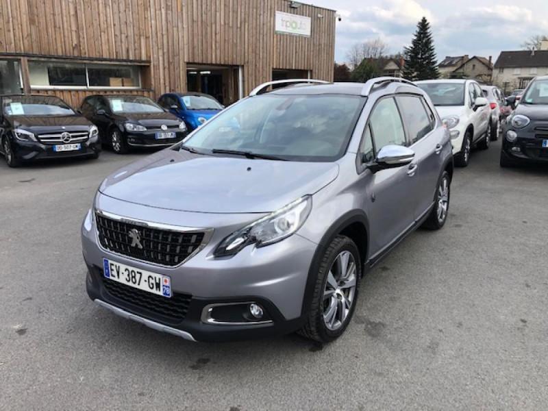 Peugeot 2008  1.2I PURETECH 110S&S EAT6 CROSSWAY 1ERE MAIN GPS CAMERA REGULATEUR BOITE AUTO  Essence GRIS Occasion à vendre