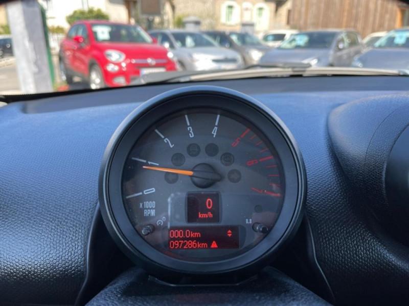 Photo 22 de l'offre de MINI MINI PACEMAN 1.6 D FAP - 112  PACEMAN R61 COUPE COOPER D  à 12990€ chez Triplo auto