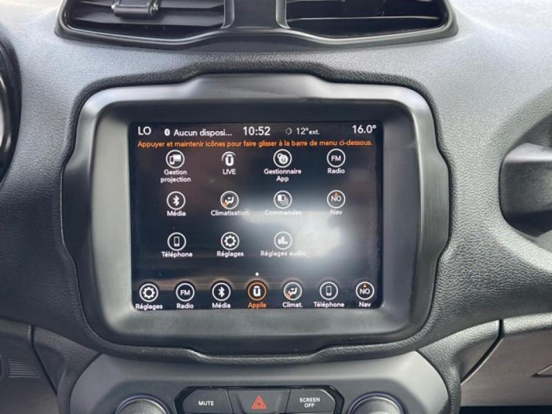 Photo 19 de l'offre de JEEP RENEGADE 1.6 MJT 120 LONGITUDE BUSINESS GPS  à 16490€ chez Triplo auto