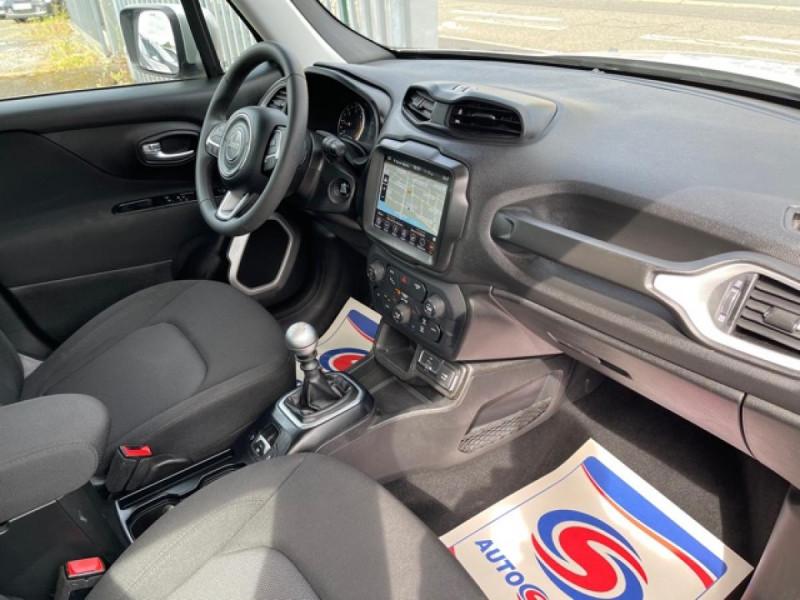 Photo 15 de l'offre de JEEP RENEGADE 1.6 MJT 120 LONGITUDE BUSINESS GPS  à 16490€ chez Triplo auto