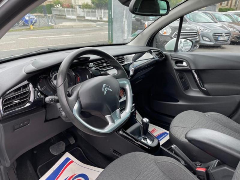 Photo 13 de l'offre de CITROEN C3  1.2 82 S&S -BVA EXCLUSIVE GPS CAMERA RADAR AR à 10990€ chez Triplo auto