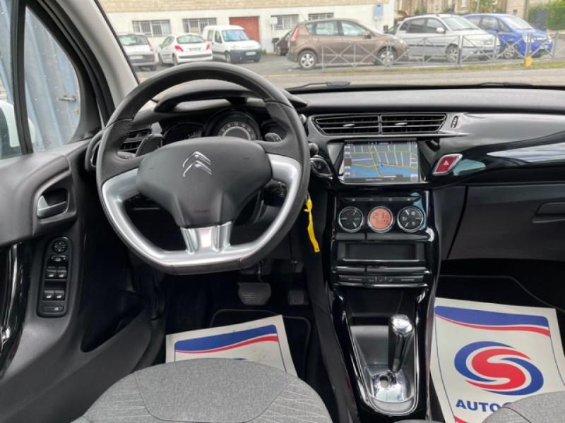 Photo 15 de l'offre de CITROEN C3  1.2 82 S&S -BVA EXCLUSIVE GPS CAMERA RADAR AR à 10990€ chez Triplo auto