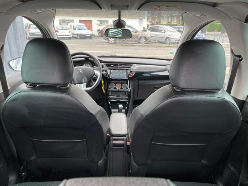 Photo 10 de l'offre de CITROEN C3  1.2 82 S&S -BVA EXCLUSIVE GPS CAMERA RADAR AR à 10990€ chez Triplo auto