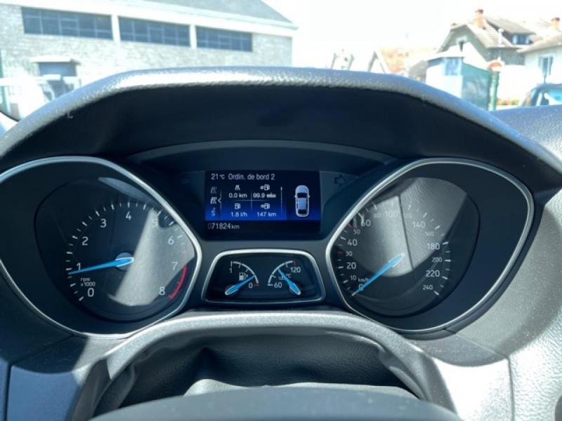 Photo 21 de l'offre de FORD FOCUS 1.0 SCTI 125 TITANIUM  RADAR AV AR   GPS,  ECOBOOST à 11490€ chez Triplo auto