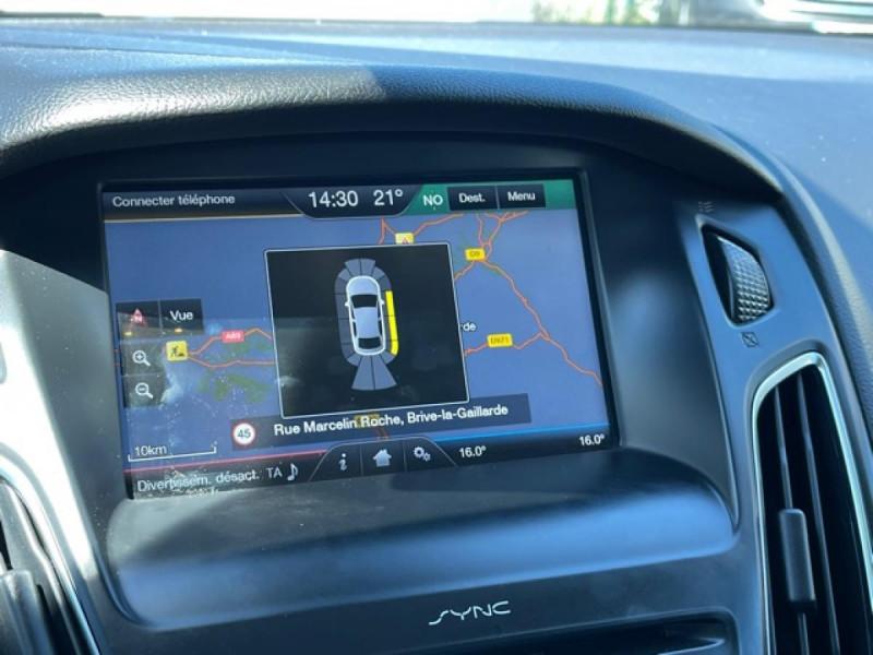 Photo 20 de l'offre de FORD FOCUS 1.0 SCTI 125 TITANIUM  RADAR AV AR   GPS,  ECOBOOST à 11490€ chez Triplo auto