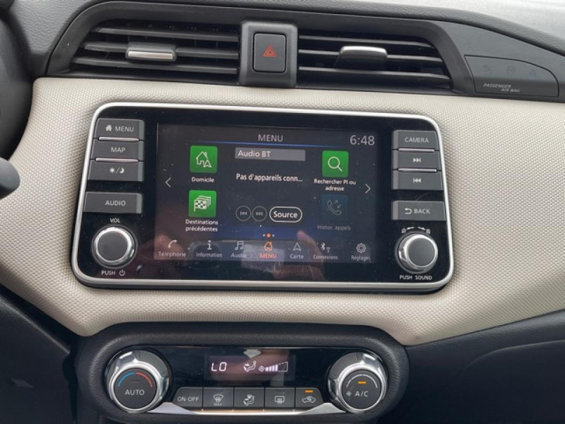 Photo 19 de l'offre de NISSAN MICRA 1.0 100 -X-TRONIC N-CONNECTA GPS CAMERA 1ERE MAIN à 13990€ chez Triplo auto