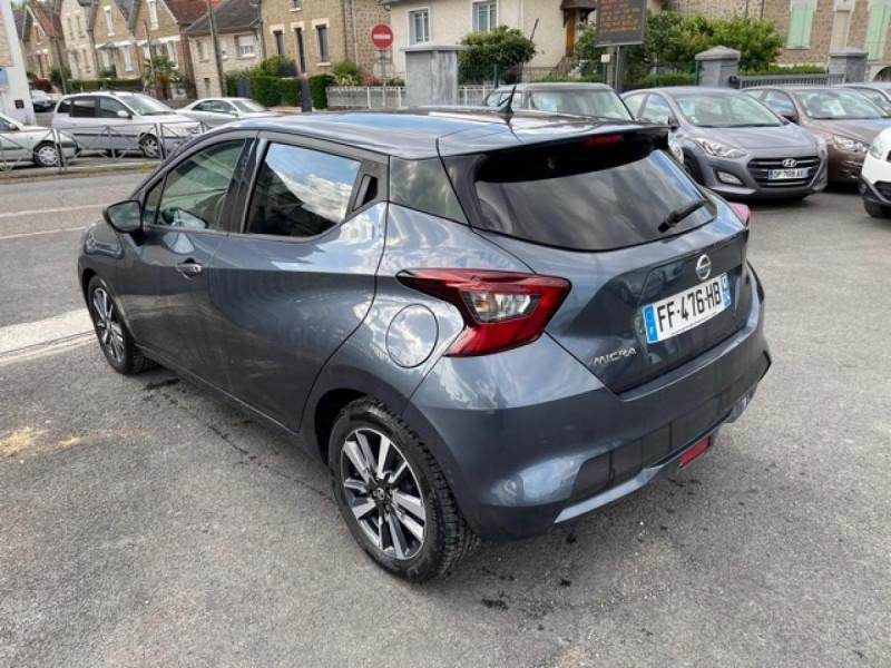 Photo 3 de l'offre de NISSAN MICRA 1.0 100 -X-TRONIC N-CONNECTA GPS CAMERA 1ERE MAIN à 13990€ chez Triplo auto