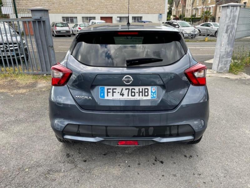 Photo 4 de l'offre de NISSAN MICRA 1.0 100 -X-TRONIC N-CONNECTA GPS CAMERA 1ERE MAIN à 13990€ chez Triplo auto