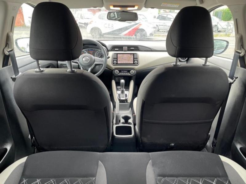 Photo 10 de l'offre de NISSAN MICRA 1.0 100 -X-TRONIC N-CONNECTA GPS CAMERA 1ERE MAIN à 13990€ chez Triplo auto