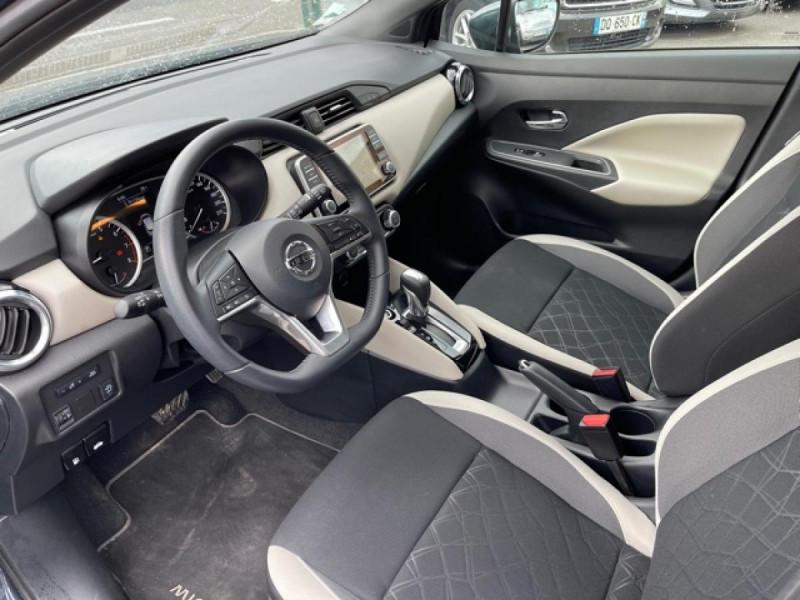 Photo 12 de l'offre de NISSAN MICRA 1.0 100 -X-TRONIC N-CONNECTA GPS CAMERA 1ERE MAIN à 13990€ chez Triplo auto