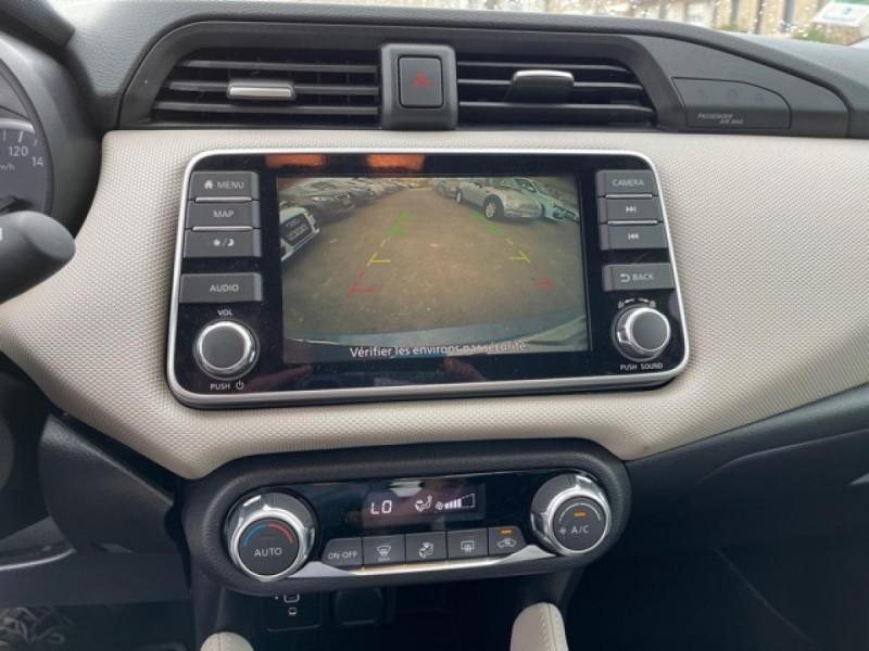 Photo 17 de l'offre de NISSAN MICRA 1.0 100 -X-TRONIC N-CONNECTA GPS CAMERA 1ERE MAIN à 13990€ chez Triplo auto